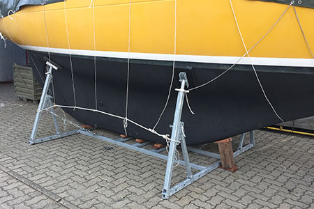 Lagerbock WLB 00-040-S-1,0 mit Boot